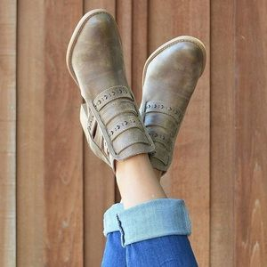 Shoes - Qupid booties